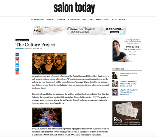 Press – Gila Rut Salon